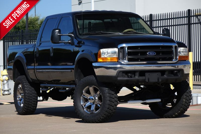 1999 Ford Super Duty F-250 Lariat* 7.3L Diesel* only 136k mi* Crew* Lifted** | Plano, TX | Carrick's Autos in Plano TX