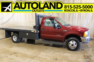 1999 Ford Super Duty F-350 Flat Bed Diesel 4x4 lariat in Roscoe, IL 61073