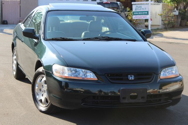1999 Honda ACCORD EX COUPE LEATHER AUTOMATIC SERVICE RECORDS in Woodland Hills CA, 91367