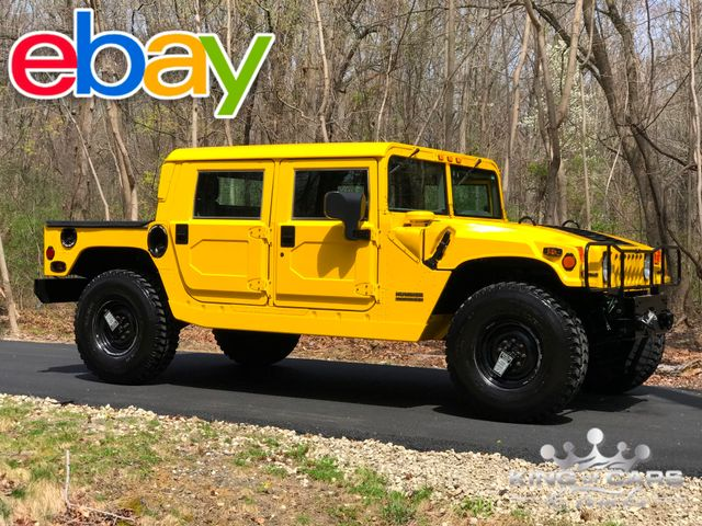 1999 Hummer H1 Hardtop ONLY 36K ORIGINAL MILES 6.5L DIESEL 4X4 MINT