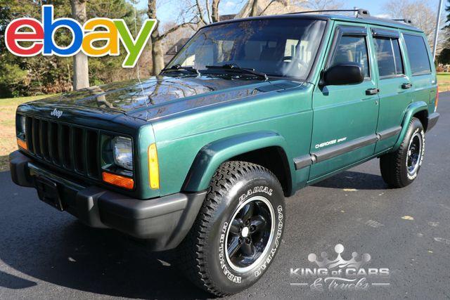 1999 Jeep Cherokee Sport Xj 115K ORIGINAL MILES 1-OWNER GARAGED 4X4