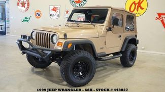 1999 Jeep Wrangler SE 4X4 5 SPD,LIFTED,SOFT TOP,LED LIGHTS,15IN BL... in Carrollton, TX 75006