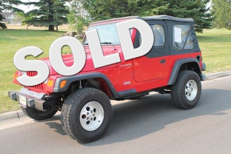 1999 Jeep Wrangler SE in Great Falls, MT