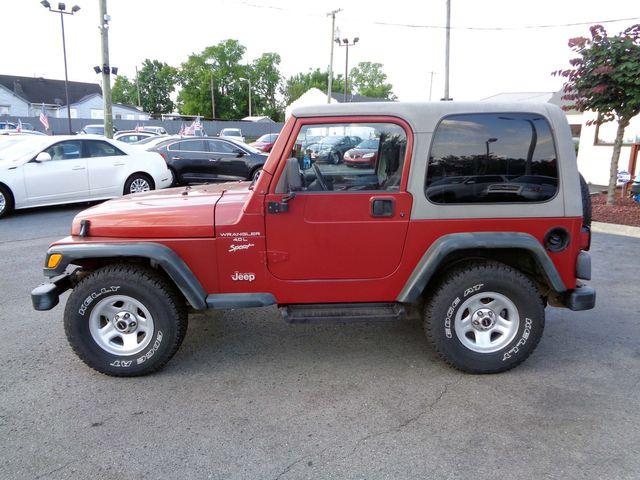 1999 Jeep Wrangler Sport in Nashville, Tennessee 37211