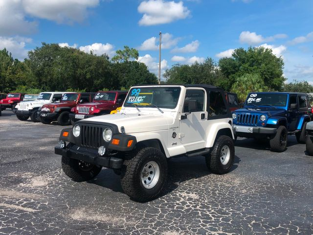 1999 Jeep Wrangler Sahara in Riverview, FL 33578