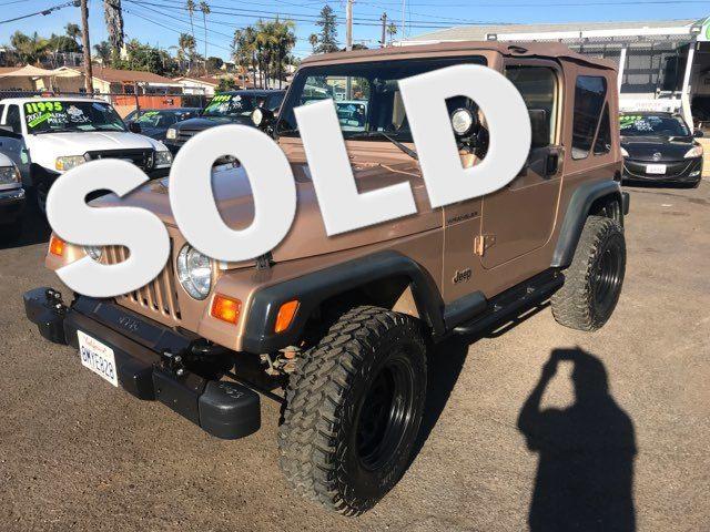 1999 Jeep Wrangler SE San Diego, CA
