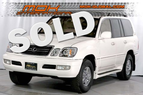 1999 Lexus LX 470  - Nakamichi sound - Only 128K miles in Los Angeles