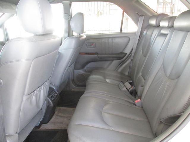 1999 Lexus RX 300 Luxury SUV Gardena, California 10