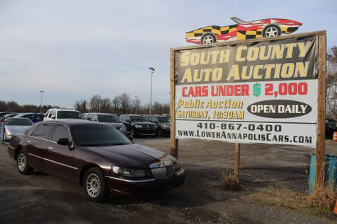 1999 Lincoln Town Car Cartier in Harwood, MD