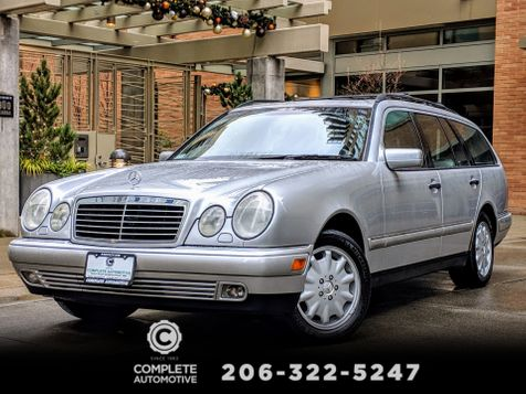 1999 Mercedes-Benz E320 4Matic Wagon 7 Passenger All Wheel Drive Local 2 Owner History  in Seattle