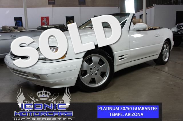 1999 Mercedes-Benz SL500  | Tempe, AZ | ICONIC MOTORCARS, Inc. in Tempe AZ