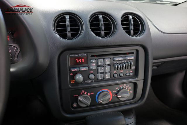 1999 Pontiac Firebird Trans Am 30th Anniversary Merrillville, Indiana 19