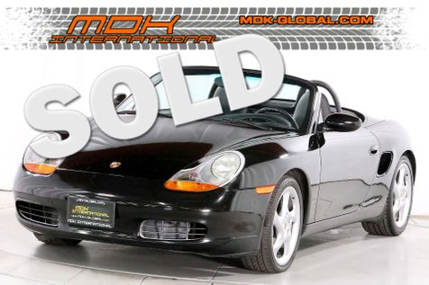 1999 Porsche Boxster - Manual - Turbo Look wheels in Los Angeles