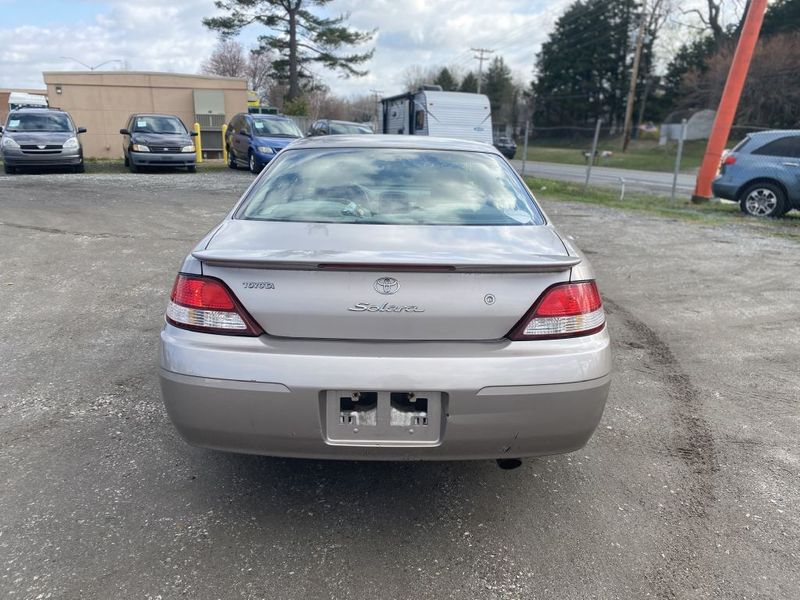 1999 Toyota Camry Solara SE  city MD  South County Public Auto Auction  in Harwood, MD