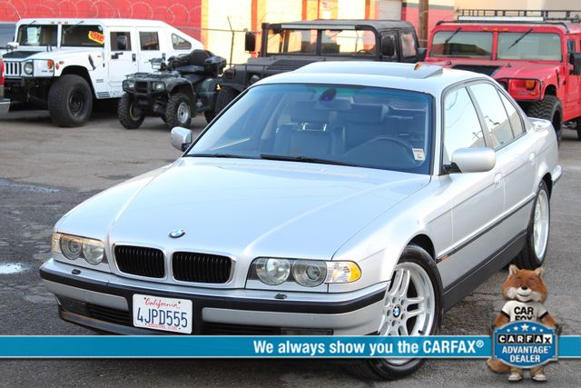 2000 BMW 740i SPORTS PKG XTRA CLEAN NEW TIRES in Woodland Hills CA, 91367
