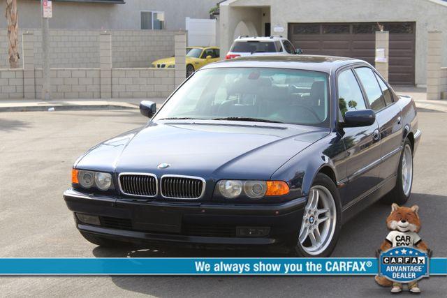 2000 BMW 740i SPORTS PKG XTRA CLEAN NEW TIRES NAVIGATION SERVICE RECORDS
