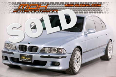 2000 BMW M5 - Silverstone Metallic - ANDROID - DINAN in Los Angeles