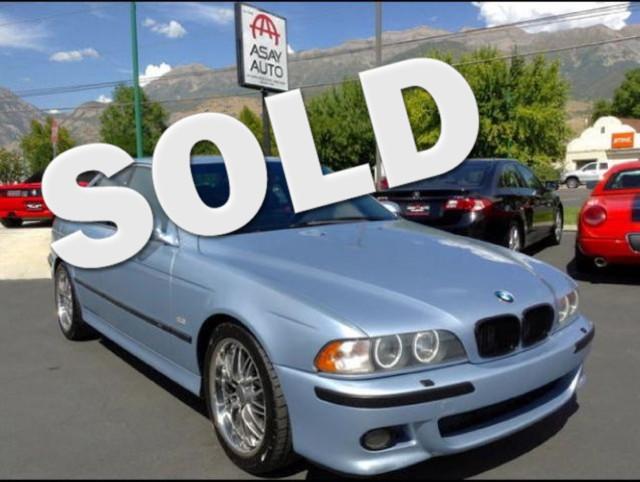 2000 BMW M5 EURO SPEC
