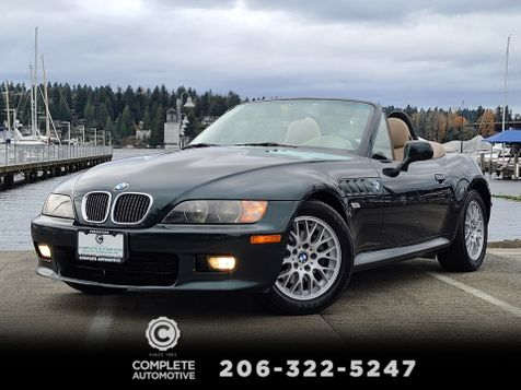 2000 BMW Z3 2.8i Roadster 69,000 Miles Local 1 Owner History Premium M Sport in Seattle