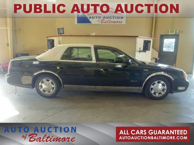 2000 Cadillac DeVille  | JOPPA, MD | Auto Auction of Baltimore  in JOPPA MD