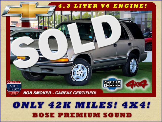 2000 Chevrolet Blazer LS 4X4 - ONLY 42K MILES - ONE OWNER - BOSE SOUND! Mooresville , NC