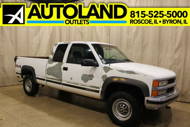 2000 Chevrolet C/K 2500 Long Bed 4x4 Liftgate