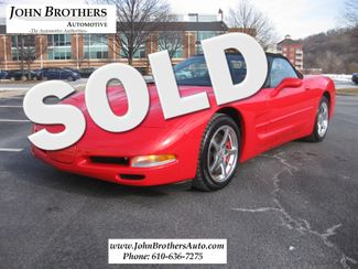 2000 Sold Chevrolet Corvette Conshohocken, Pennsylvania