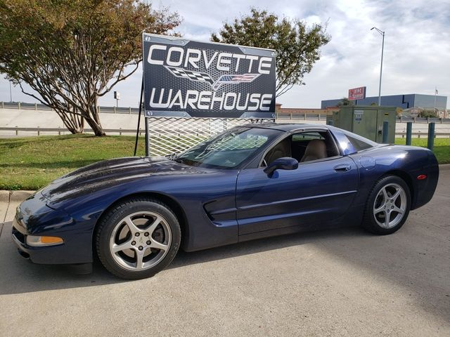 2000 Chevrolet Corvette Coupe Sport Seats, Auto, Rare Navy Blue 65k in Dallas, Texas 75220