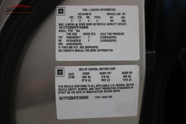 2000 Chevrolet Corvette Merrillville, Indiana 47