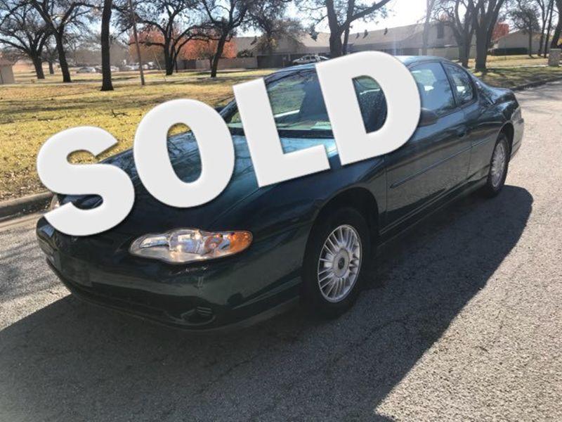 2000 Chevrolet Monte Carlo LS | Ft. Worth, TX | Auto World Sales LLC in Ft. Worth TX
