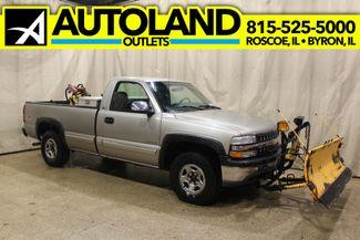 2000 Chevrolet Silverado 1500 plow 4x4 Long Box LS in Roscoe, IL 61073
