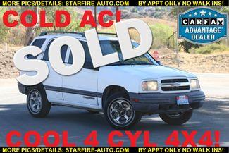 2000 Chevrolet Tracker 4X4 Santa Clarita, CA