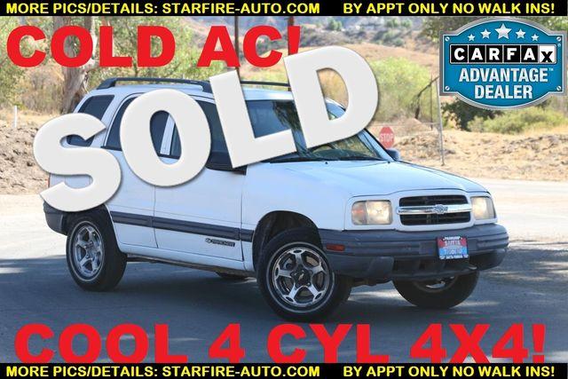 2000 Chevrolet Tracker 4X4 Santa Clarita, CA 0