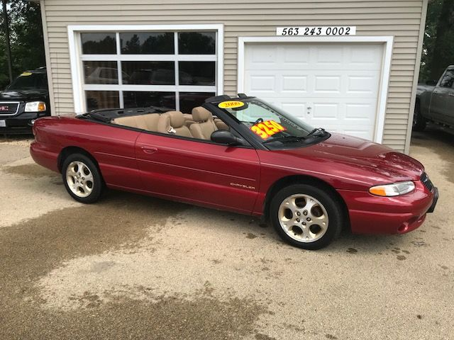 2000 Chrysler Sebring JXi in Clinton IA, 52732