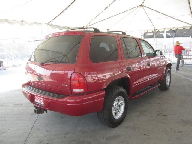 2000 Dodge Durango Gardena, California 2