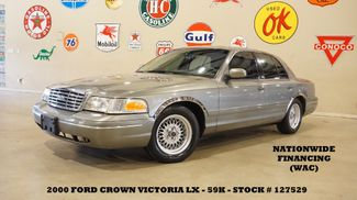 2000 Ford Crown Victoria LX AUTO,V8,LEATHER,16IN WHLS,59K,WE FINANCE in Carrollton, TX 75006