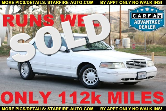 2000 Ford Crown Victoria LX Santa Clarita, CA 0