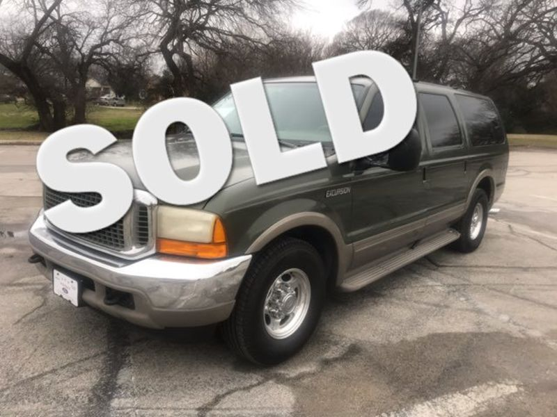 2000 Ford Excursion Limited 7.3 Diesel | Ft. Worth, TX | Auto World Sales LLC in Ft. Worth TX