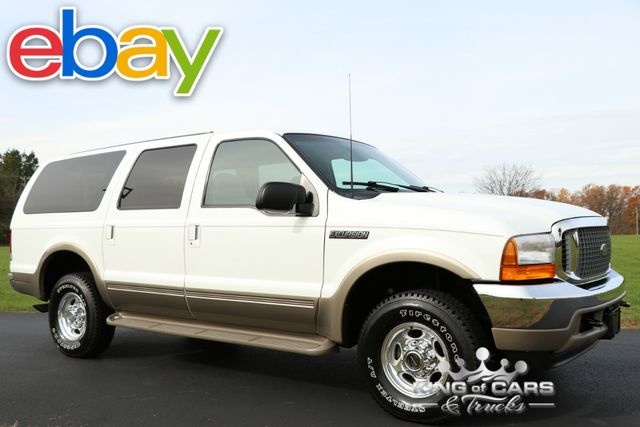 2000 Ford Excursion Limited 7.3l DIESEL 26K ACTUAL MILES 1-OWNER 4X4 NICEST IN COUNTRY
