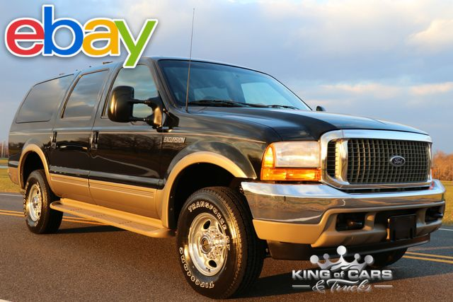 2000 Ford Excursion Limited 7.3L DIESEL 54K ACTUAL MILES 1-OWNER 4X4