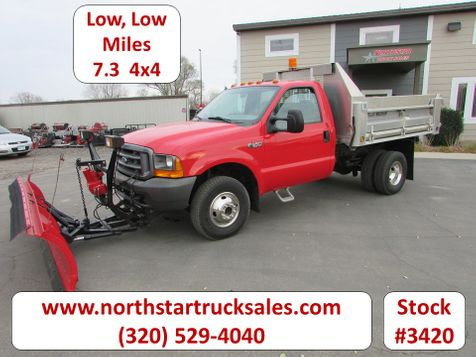 2000 Ford F-350 4x4 Reg Cab Dump Plow Truck  in St Cloud, MN