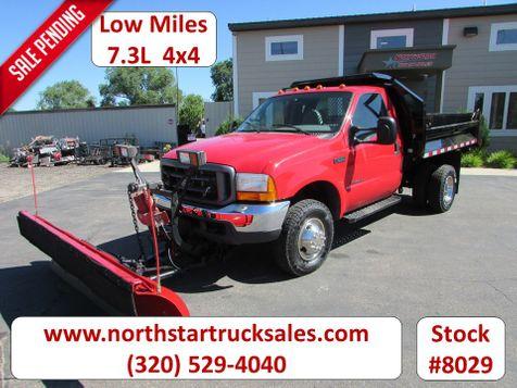 2000 Ford F-350 7.3 4x4 Plow Dump Truck  in St Cloud, MN