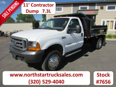 2000 Ford F-450 7.3 Reg Cab 11' Crysteel Contractor Dump  in St Cloud, MN