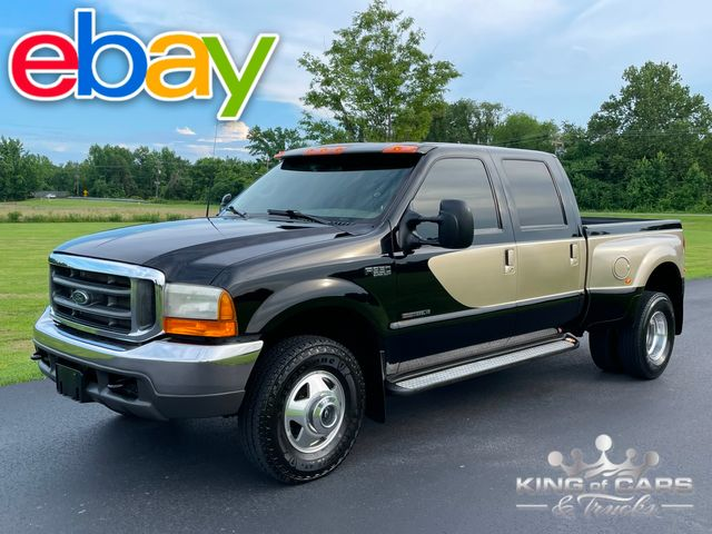 2000 Ford F350 Drw 7.3 Diesel 4x4 LARIAT LE RARE LOW MILES BUY IT NOW