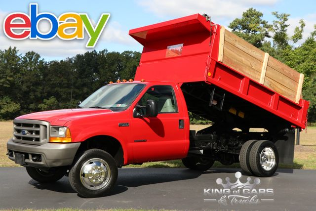 2000 Ford F550 Mason Pto Dump 7.3L DIESEL 6-SPEED 63K ORIGINAL MILES PTO in Woodbury, New Jersey 08096