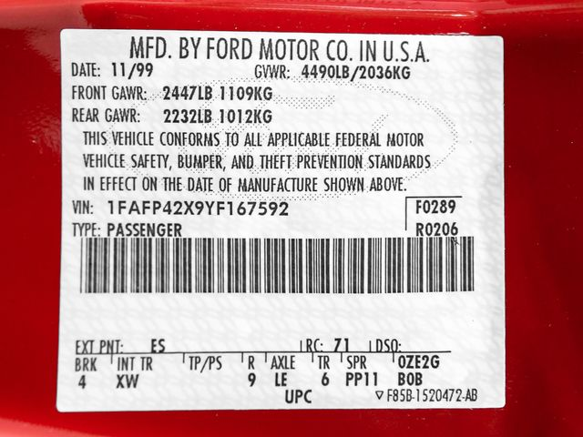 2000 Ford Mustang GT Burbank, CA 26