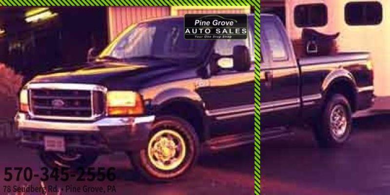 2000 Ford Super Duty F-250 XLT   Pine Grove, PA   Pine Grove Auto Sales in Pine Grove, PA