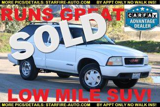 2000 GMC Jimmy SLS Convenience Santa Clarita, CA
