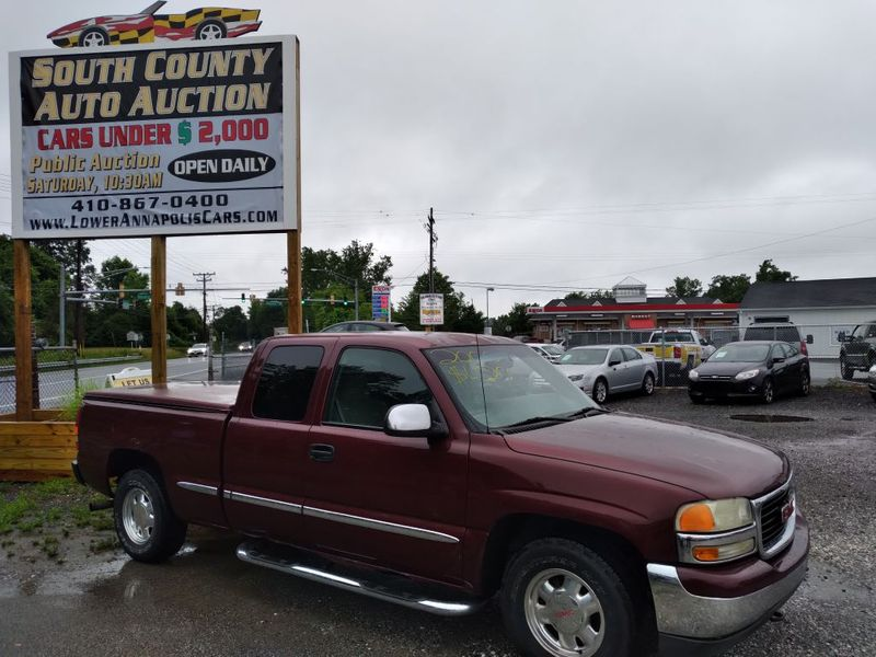 2000 GMC New Sierra 1500 SLE  city MD  South County Public Auto Auction  in Harwood, MD