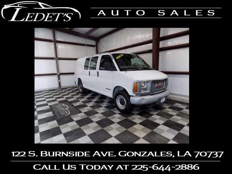 2000 GMC Savana Cargo Van G2500 - Ledet's Auto Sales Gonzales_state_zip in Gonzales Louisiana